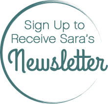 Sign up to Receive Sara Mattson's Newsletter